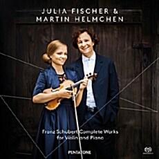 [수입] 슈베르트 : 바이올린과 피아노를 위한 작품 전집 [2SACD Hybrid]