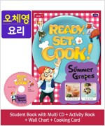 Pack-Ready, Set, Cook ! 1 : Summer Grapes (SB+Multi CD+AB+Wall Chart+Cooking Card)