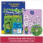 Pack-Ready, Set, Discover ! 2 : Frankie and his Friends (SB+Multi CD+AB+Wall Chart)