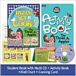 Pack-Ready, Set, Cook ! 2 : The Three Apples (SB+Multi CD+AB+Wall Chart+Cooking Card)