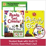 Pack-Ready, Set, Create ! 1 : The Happy Tree (SB+Multi CD+AB+Wall Chart)