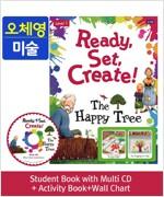 Pack-Ready, Set, Create ! 1 : The Happy Tree (SB+Multi CD+AB+Wall Chart)
