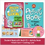 Pack-Ready, Set, Cook ! 1 : The Rabbit and the Turtle (SB+Multi CD+AB+Wall Chart+Cooking Card)