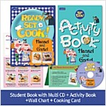 Pack-Ready, Set, Cook ! 2 : Hansel and Gretel (SB+Multi CD+AB+Wall Chart+Cooking Card)