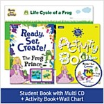 Pack-Ready, Set, Create ! 2 : The Frog Prince (SB+Multi CD+AB+Wall Chart)