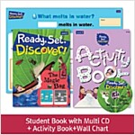 Pack-Ready, Set, Discover ! 2 : The Magic Bag (SB+Multi CD+AB+Wall Chart)