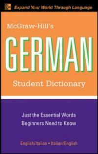 McGraw-Hill's German Student Dictionary (Paperback, 2)