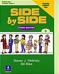Side by Side 3 Student Book 3 Audio CDs (7) (Audio CD, Student)