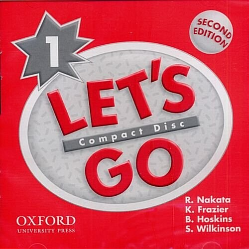 Lets Go: 1: Audio CD (CD-Audio, 2 Revised edition)
