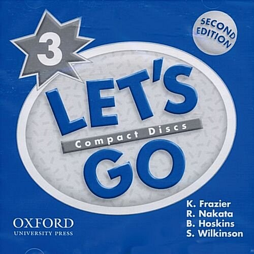 Lets Go: 3: Audio CD (CD-Audio, 2 Revised edition)