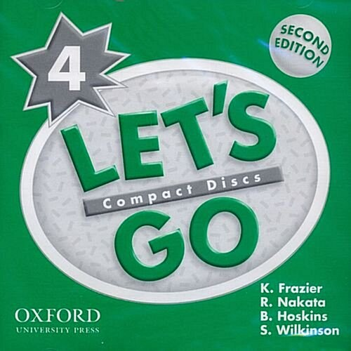 Lets Go: 4: Audio CD (CD-Audio, 2 Revised edition)