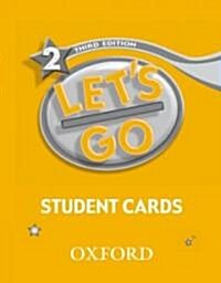 Lets Go: 2: Student Cards (Cards)