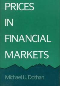 Prices in Financial Markets (Hardcover)