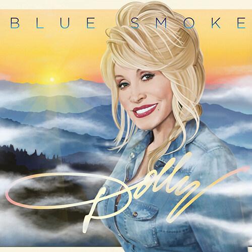 [수입] Dolly Parton - Blue Smoke [투명 블루, 블랙 믹스컬러반 180g LP]