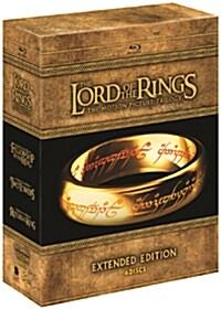 [블루레이] 반지의 제왕 : 확장판 트릴로지 (6disc 박스세트)