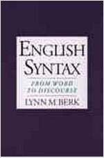 English Syntax: From Word to Discourse (Paperback)