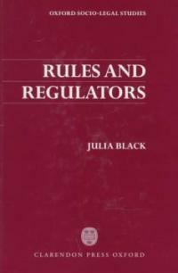 Rules and regulators