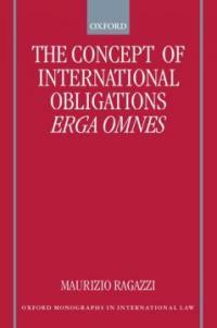 The concept of international obligations erga omnes
