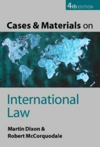 Cases and materials on international law / 4th ed