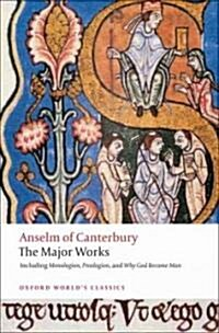 Anselm of Canterbury: The Major Works (Paperback)