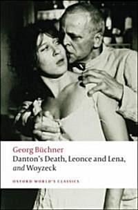 Dantons Death, Leonce and Lena, Woyzeck (Paperback)