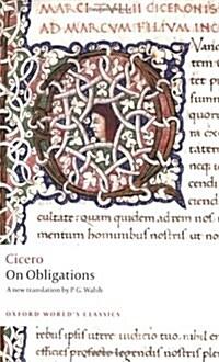 On Obligations : De Officiis (Paperback)