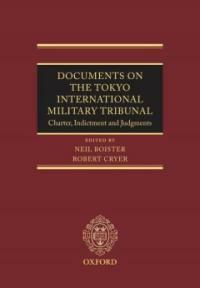 Documents on the Tokyo International Military Tribunal : charter, indictment and judgments