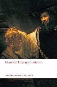 Classical Literary Criticism (Paperback)