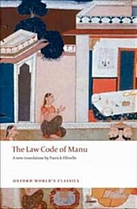 The Law Code of Manu (Paperback)