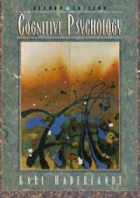 Cognitive psychology 2nd ed