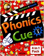 Phonics Cue 1 (Studentbook + Workbook + CD 2장 + Activity Worksheet) (New Edition)