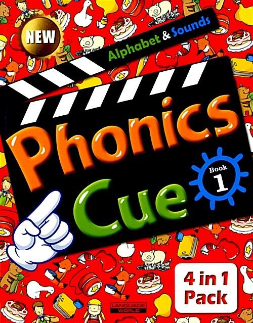 Phonics Cue 1 (Studentbook + Workbook + CD 2장 + Activity Worksheet) (New Edition)