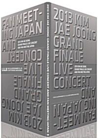 2013 김재중 그랜드 파이널 라이브 콘서트 & 일본 팬미팅 DVD (3disc+100p 화보집)
