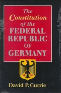 The Constitution of the Federal Republic of Germany
