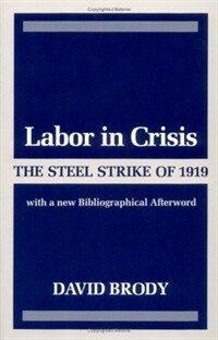 Labor in crisis : the steel strike of 1919 Illini books ed