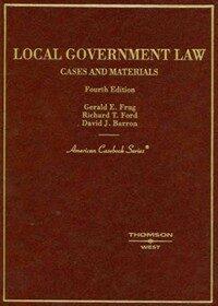 Local government law 4th ed