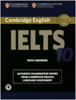 Cambridge IELTS 10 : Student's Book with Answers (Paperback + Audio)