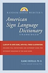 Random House Websters American Sign Language Dictionary (Hardcover)