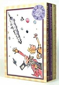 Charlie and the Chocolate Factory, Charlie and the Great Glass Elevator, & the Wonderful Story of Henry Sugar and Six More (Hardcover, BOX)