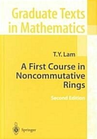 A First Course in Noncommutative Rings (Hardcover, 2, 2001)