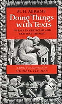 Doing Things With Texts (Hardcover)