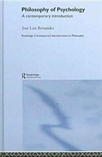 Philosophy of Psychology : A Contemporary Introduction (Hardcover)