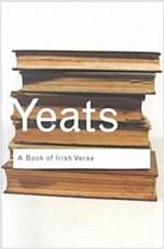 A Book of Irish Verse (Paperback)