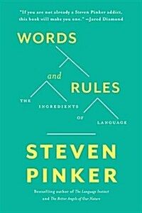 Words and Rules: The Ingredients of Language (Paperback)