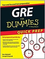 GRE for Dummies Quick Prep (Paperback)