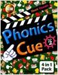 [중고] Phonics Cue 2 (Student Book + Workbook + Hybrid CD + Activity Wor)