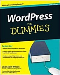 WordPress For Dummies (Paperback, 2nd)