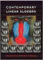 Contemporary Linear Algebra (Hardcover)