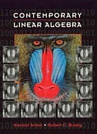 [중고] Contemporary Linear Algebra (Hardcover)