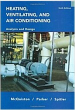 Heating, Ventilation, and Air Conditioning: And Design (Hardcover, 6, Revised)